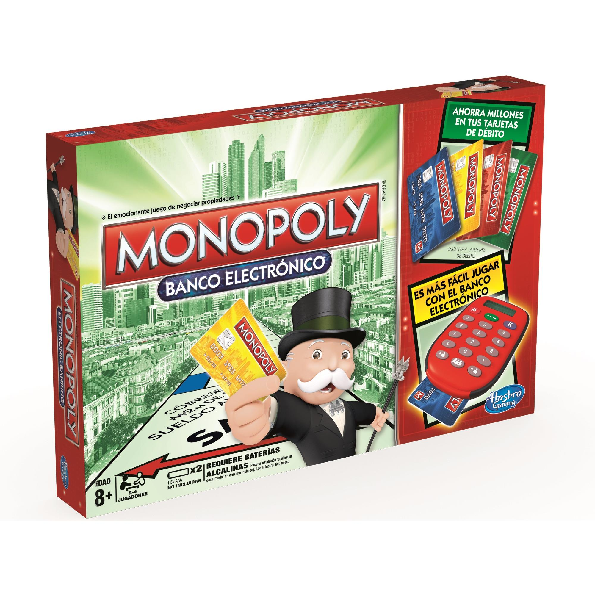 MONOPOLY ELECTORNIC BANKING B6677 - N93418