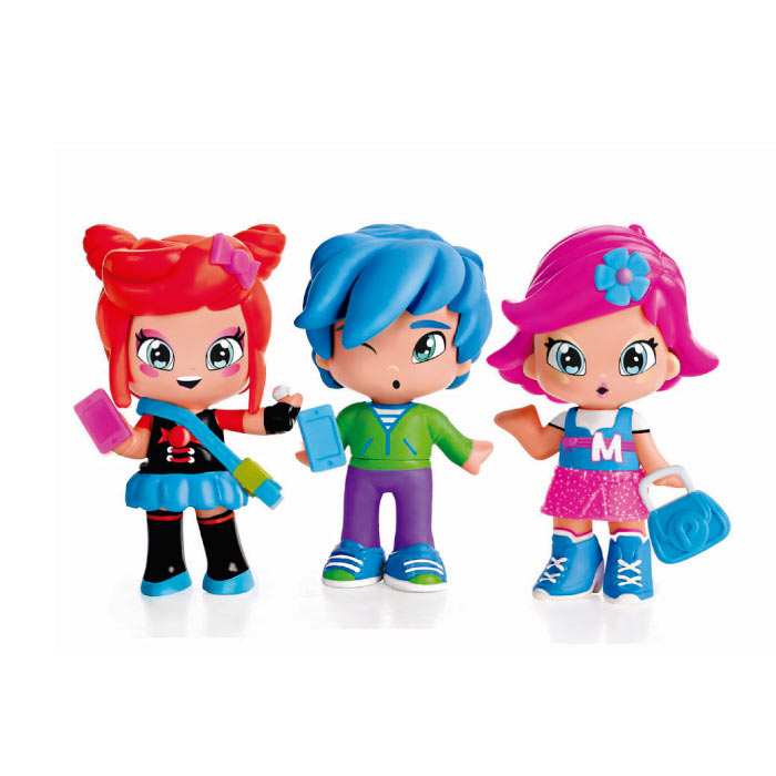 PINYPON BY PINY PACK 3 FIGURAS 13378