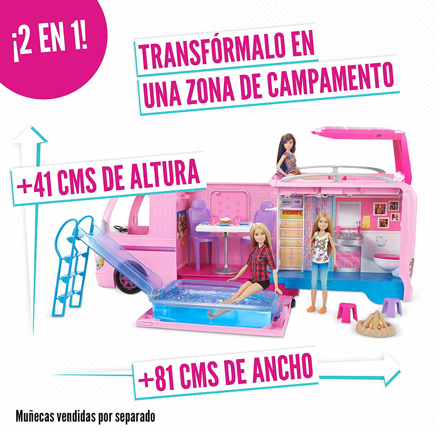 SUPERCARAVANA DE BARBIE FBR34 - N68019