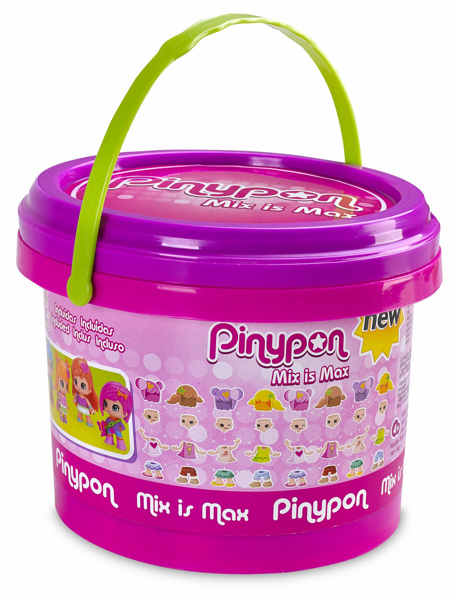 PINYPON CUBO CON 5 FIGURAS 13810