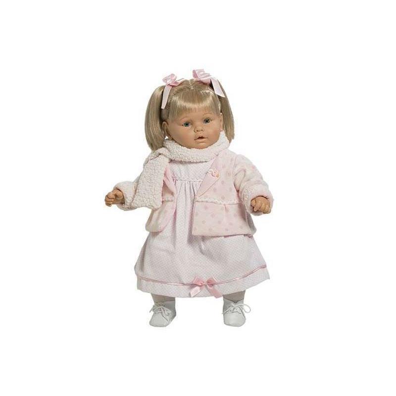 BABY DULZONA LLORONA VESTIDO ROSA ESTUCHE 8036
