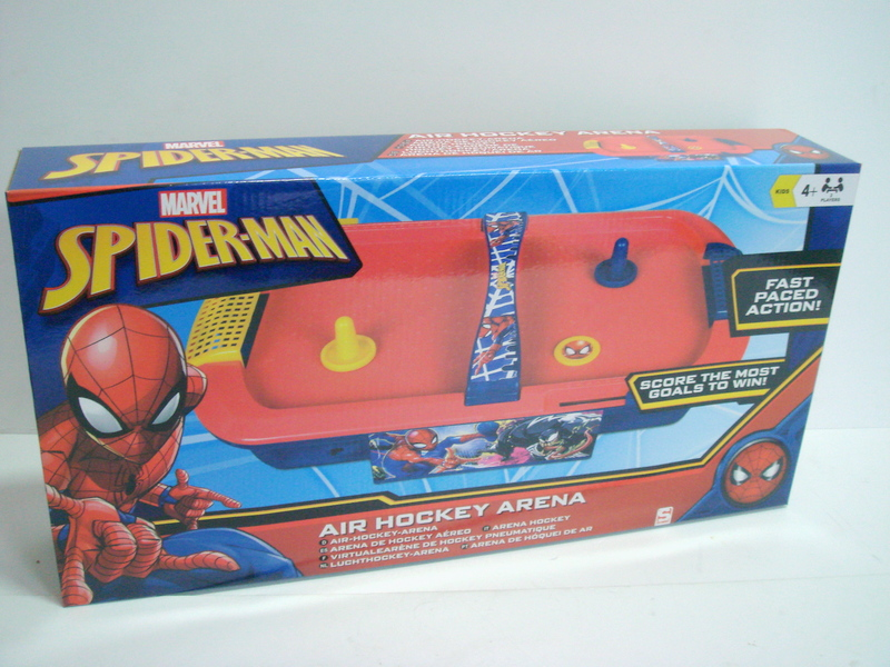 AIR HOCKEY DE CARS/SPIDERMAN DSC7-7536.V/SPE-7536.V