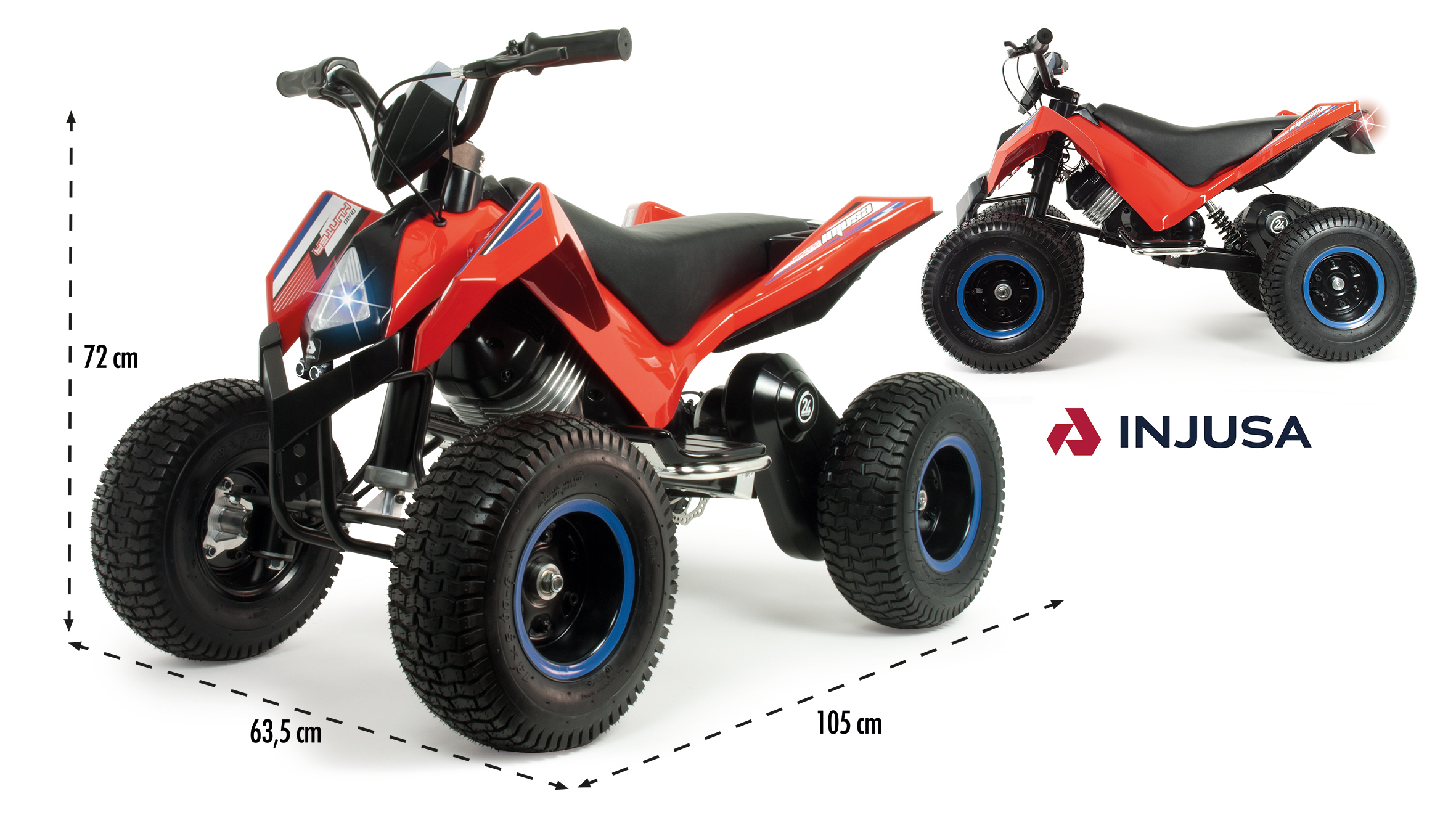 QUAD HUNTER 24V X-TREME 6024 - N38919