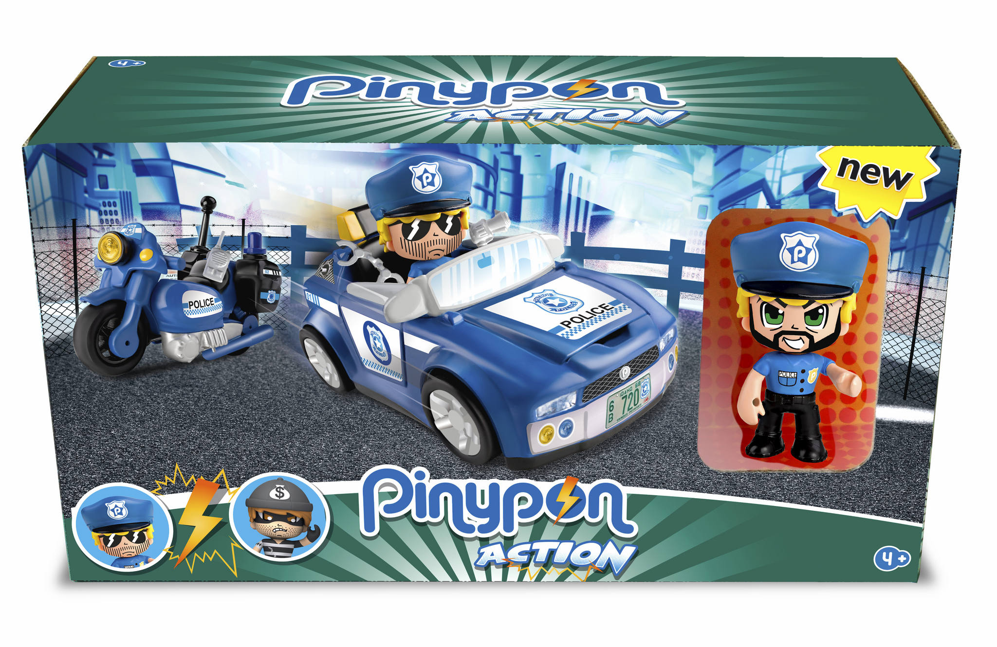 PINYPON ACTION SUPER POLICE ACTION VEHIC.14495 - V19619