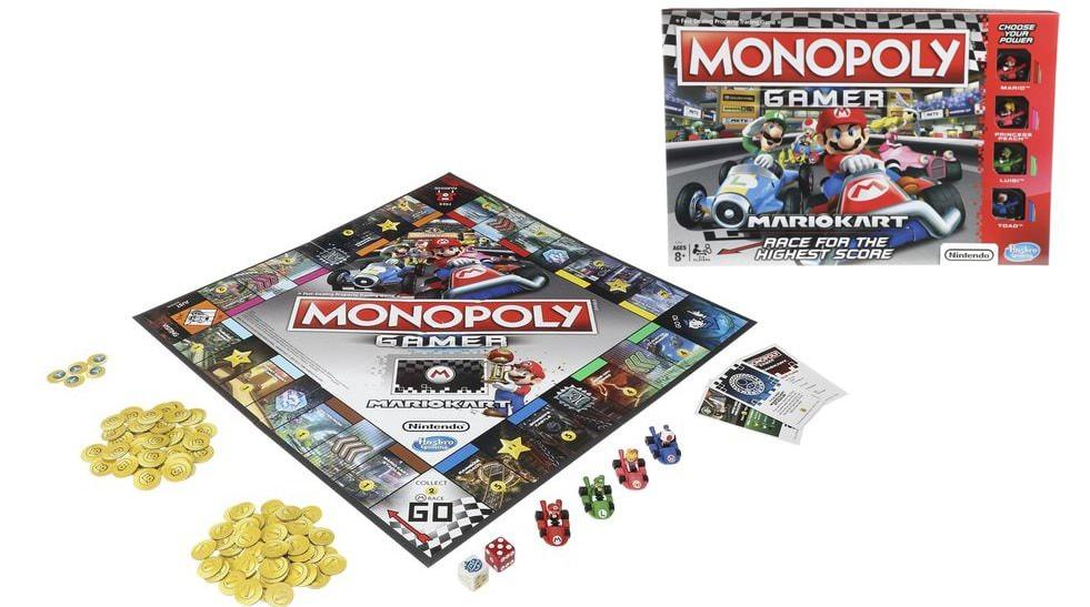MONOPOLY GAMER MARIO KART.E1870 - N93318