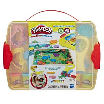 PLAYDOH CREA APRENDE Y GUARDA E1955 - N78619