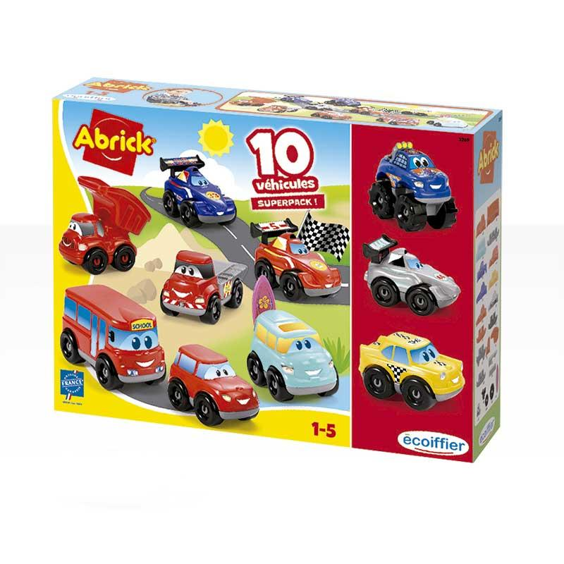 SET 7 + 3 COCHES ABRICK 32690 - N55019