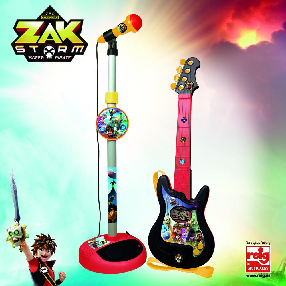 CONJUNTO GUITARRA Y MICRO ZAK 92180 - V15020