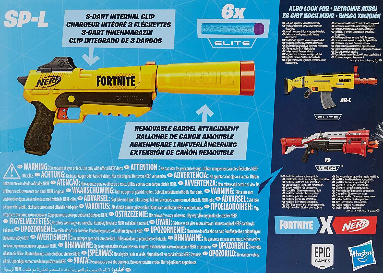 NERF FORTNITE SP L E6717 -  N50020
