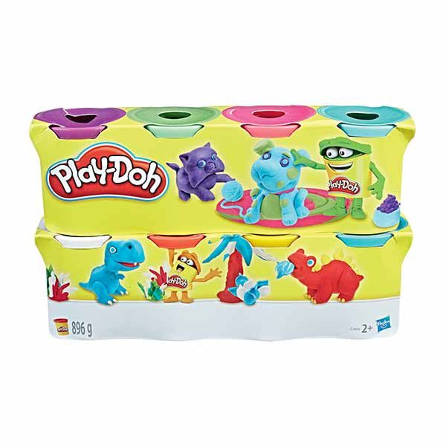 PLAYDOH PACK 8 BOTES C3899