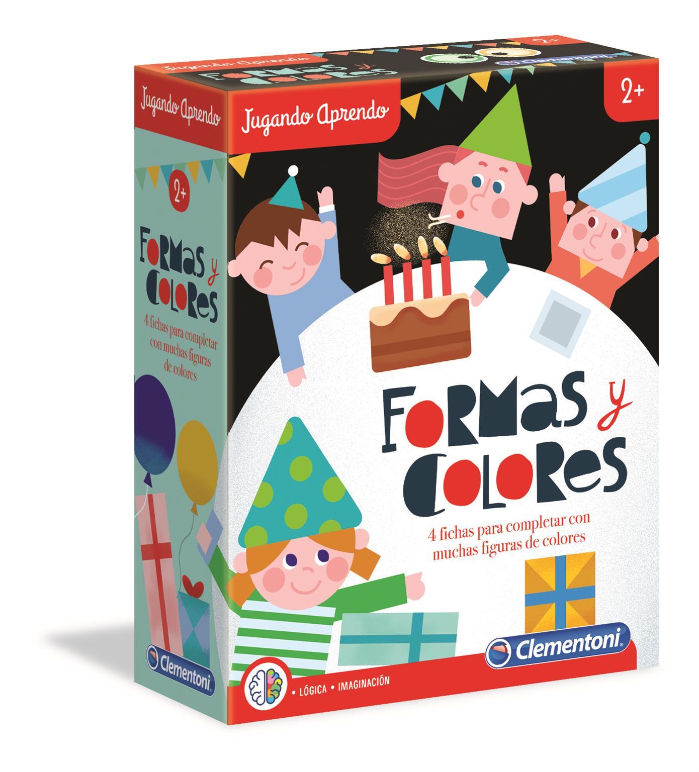 APRENDO FORMAS COLORES 55302 - V36419