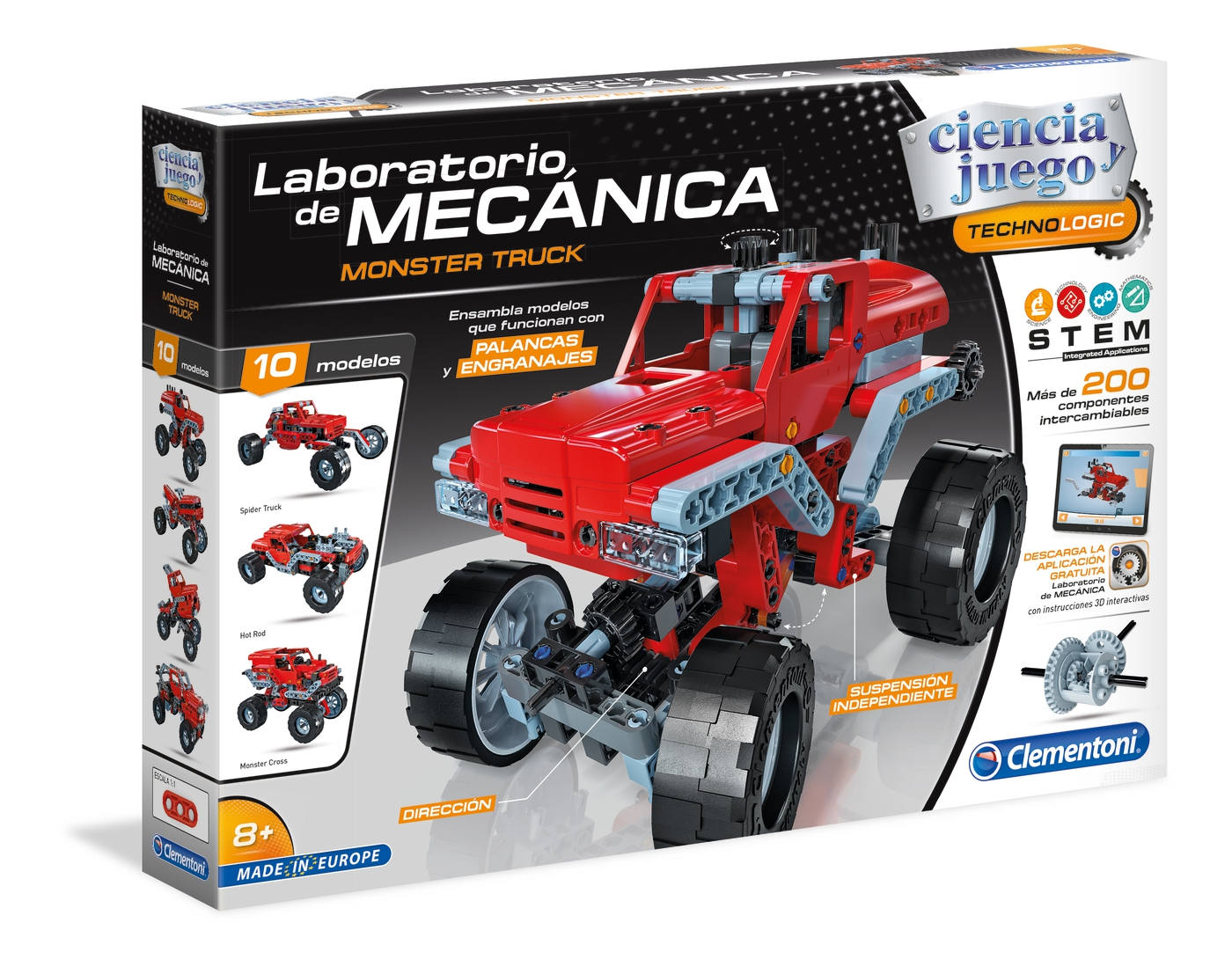 LABORATORIO DE  MECANICA MONSTER TRUCK 55277