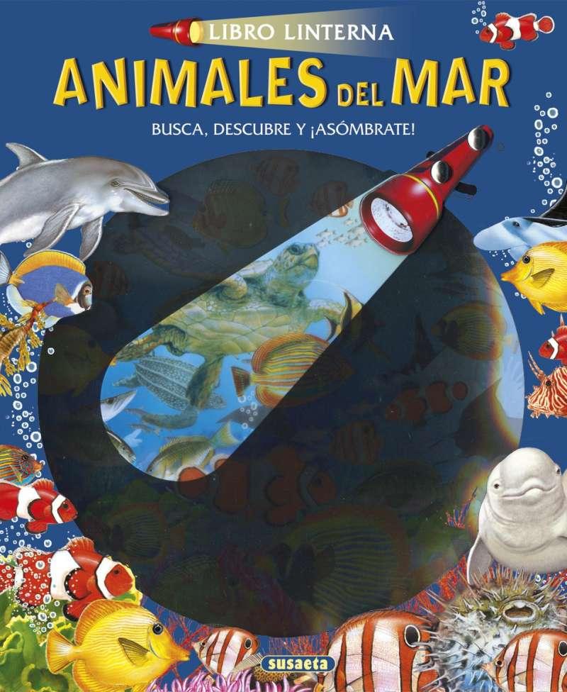 ANIMALES DEL MAR LIBRO LINTERNA S3227002