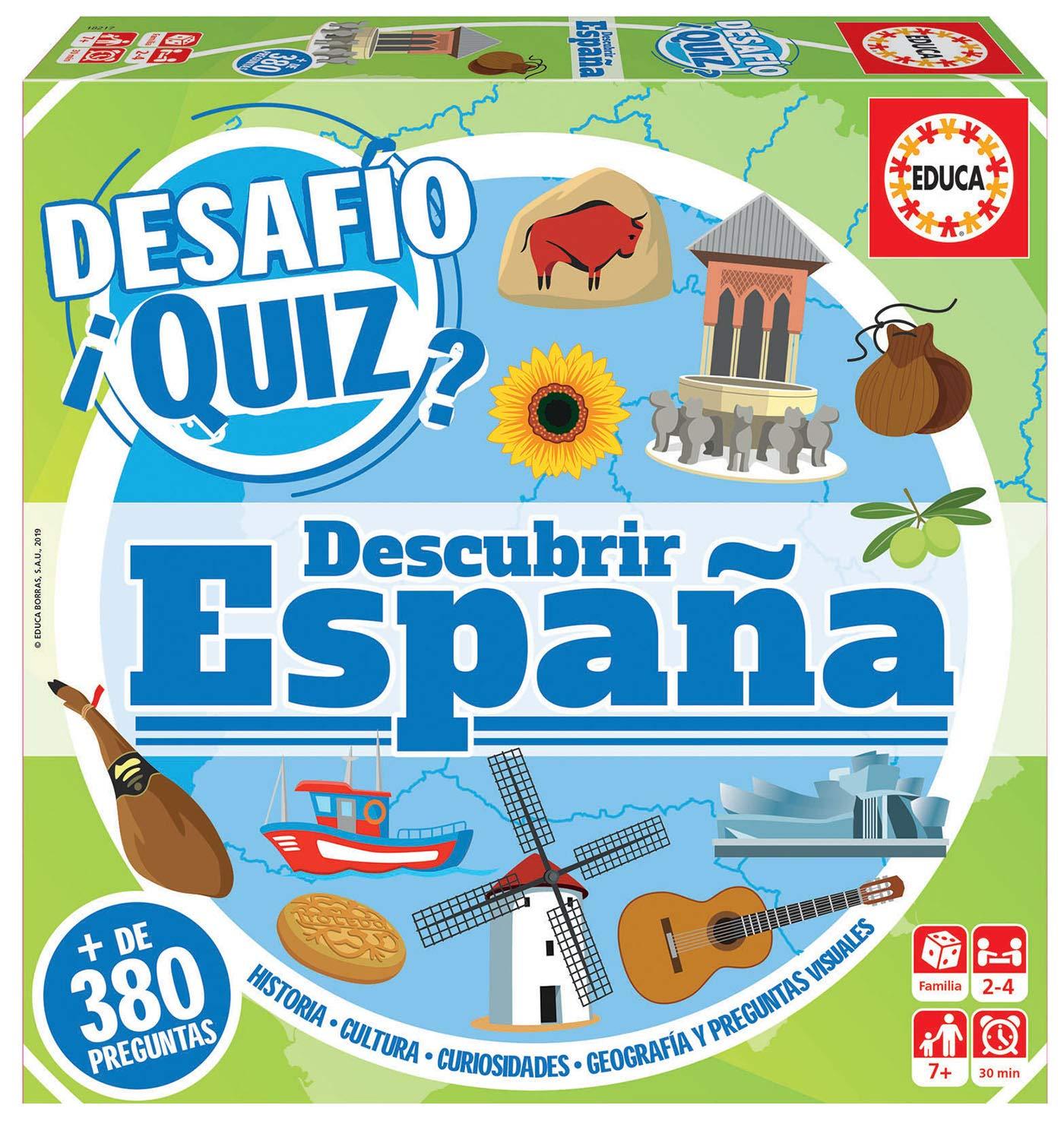 DESAFIO QUIZ- DESUBRIR ESPAÑA 18217
