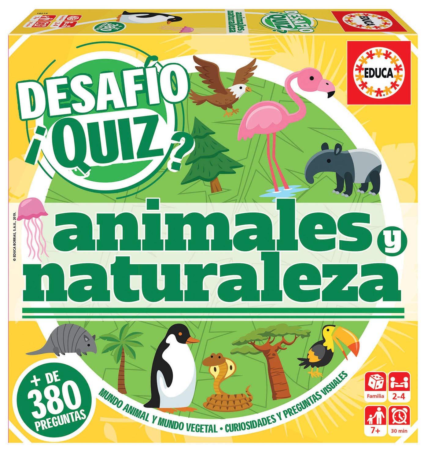 DESAFIO QUIZ ANIMALES Y NATURALEZA 18219