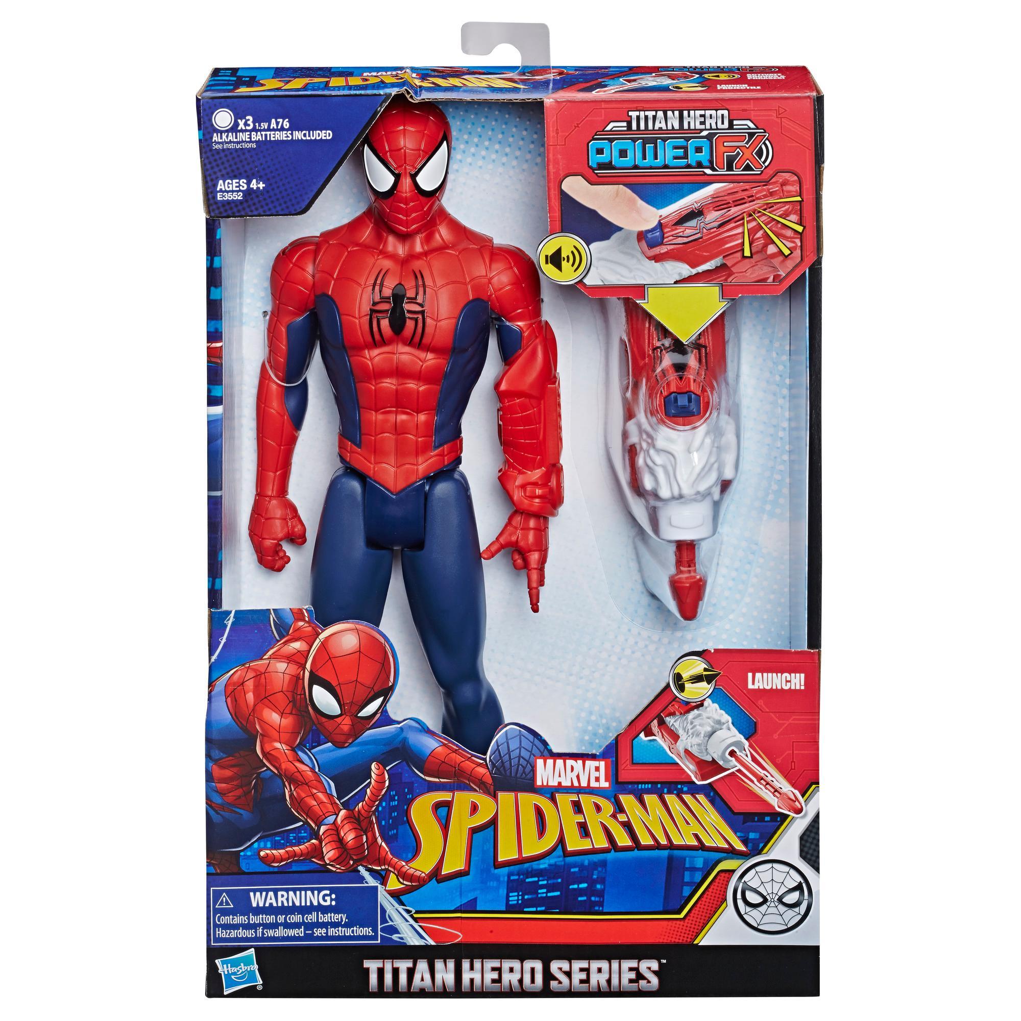 SPIDERMAN TITAN FX POWER  E3552 - N80619