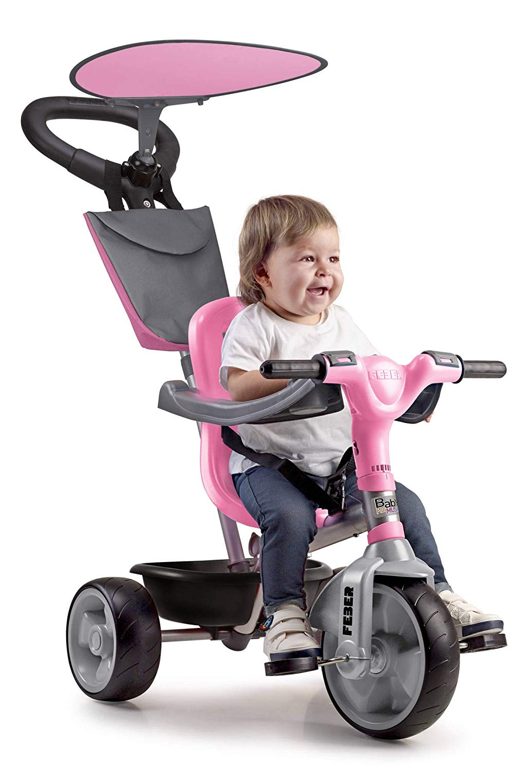 TRICICLO BABY PLUS MUSIC/PINK 12132 -  N44820
